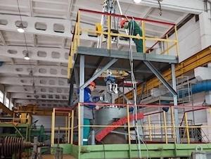 «Атомэнергоремонт» създаде робот за затапване на дефектни тръби на парогенераторите в атомните електроцентрали