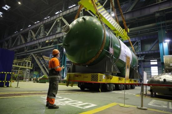 """Атоммаш"" изпрати комплект парогенератори за ""Курската АЕЦ-2″"