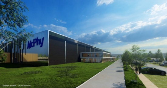 Французите ще построят гигафабрика за производство на електролизери