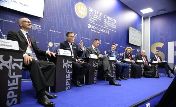 Ръководителите на Росатом взеха участие в Международния икономически форум в Санкт Петербург