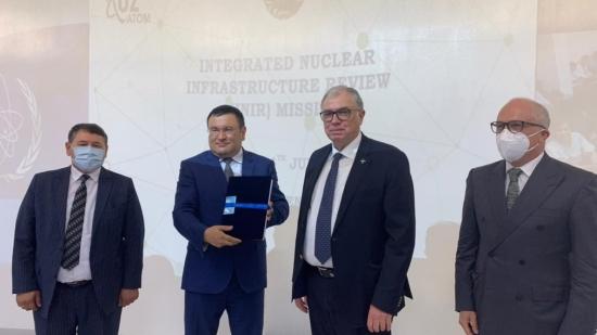 МААЕ извърши преглед на развитието на ядрената енергийна инфраструктура в Узбекистан