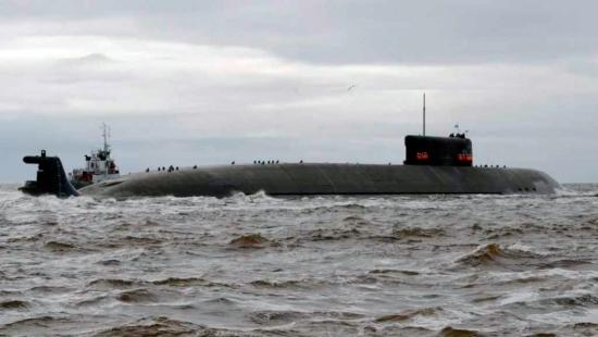 """Атомната подводница със специално предназначение """"Белгород"""" се завърна от първото излизане в морето за изпитания"""