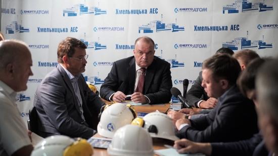 """""""Енергоатом"""" активира завършването на енергоблок № 3 на Хмелницката АЕЦ"""