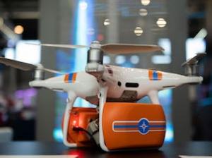 Ростех демонстрира дрон оборудван с осемкомпонентен газоанализатор и измерител на радиационния фон