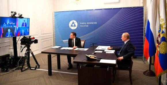 Президентът на Руската федерация подкрепи разширяването на националната програма за развитие на нови ядрени технологии с 60%