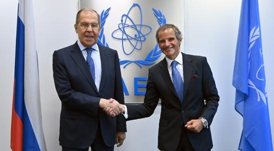 Външните министри на Руската федерация и МААЕ обсъдиха насърчаването на Съвместния всеобхватен план за действие в Иран