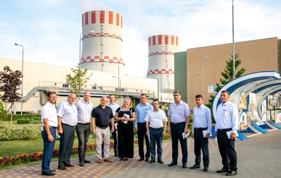 В Нововоронежката АЕЦ бе на посещение делегация на Министерството на извънредните ситуации на Република Узбекистан