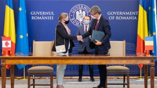 """Румъния и Канада ще си сътрудничат по модернизацията и разширяването на атомната електроцентрала """"Чернавода"""""""