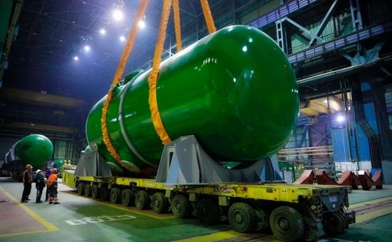 """Корпусът на реактора и четири парогенератора, произведени във Волгодонския """"Атоммаш"""", бяха доставени на втори енергоблок на бангладешката АЕЦ """"Руппур"""""""