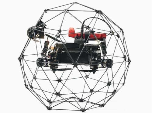 Швейцарският Flyability представи нов удароустойчив дрон Elios 2 RAD за инспекции в ядрени съоръжения