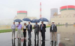 Унгарска делегация се запозна с Беларуската АЕЦ