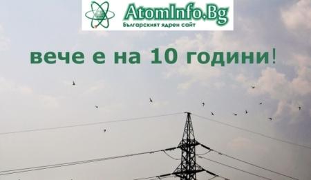 Сайтът Atominfo Bg навлиза във второто си десетилетие