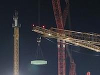 """На втори блок на строящата се АЕЦ """"Аккую"""" са монтирани основните конструктивни елементи на шахта на реактора"""