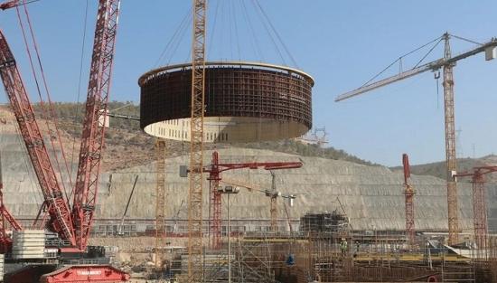 """АЕЦ """"Аккую"""" – монтираха втория слой на вътрешната защитна обвивка (ВЗО) на ядрения остров на втори енергоблок"""