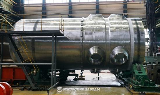 """""""Ижорските заводи"""" успешно проведоха хидроизпитанията на корпуса на реактора за втори енергоблок на АЕЦ """"Аккую"""" в Турция"""