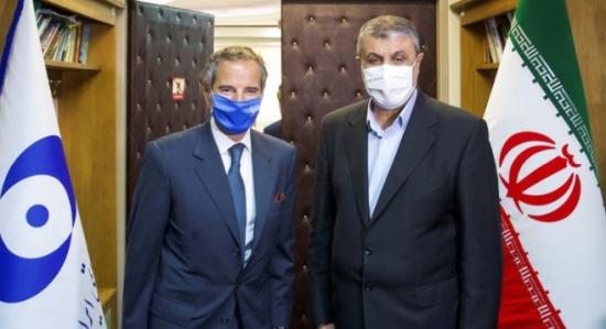 Рафаел Гроси проведе работна среща с ръководителя на AEOI
