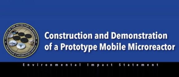САЩ – Публикувана е ОВОС на мобилния микрореактор за нуждите на отбраната