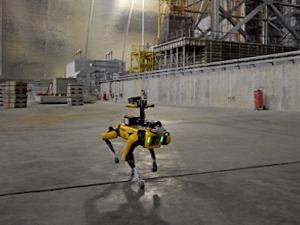 """Куче -робот на име Spot """"подушва"""" радиация в Чернобилската АЕЦ"""