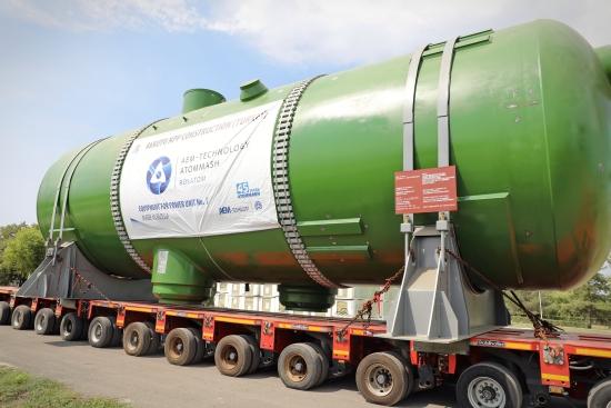 """""""Росатом""""  изпраща парогенераторите за втори енергоблок на АЕЦ """"Аккую"""""""